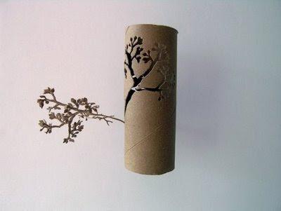 Beautiful Paper Tree Artwork