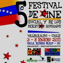 GANADORA EN EL 5º Festival de Cine Social y de los Derechos Humanos de  Valparaiso, Chile. 2011