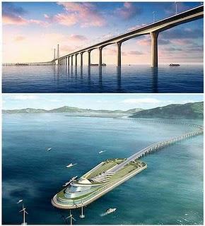 Cina progetto ponte