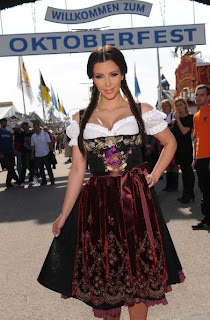 Kim Kardashian Octoberfest