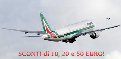codice sconto Alitalia