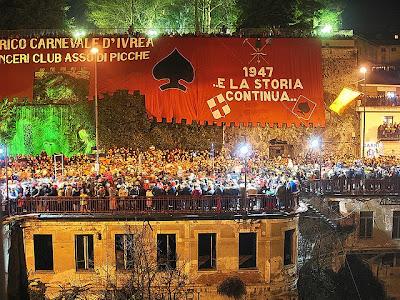 sfilata sabato Carneval Ivrea