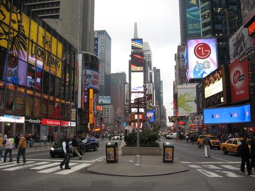 Londra new york a 369 euro a r nel mese di marzo for Time square londra