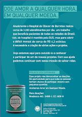 O Hosp. de Câncer de Barretos precisa de você!