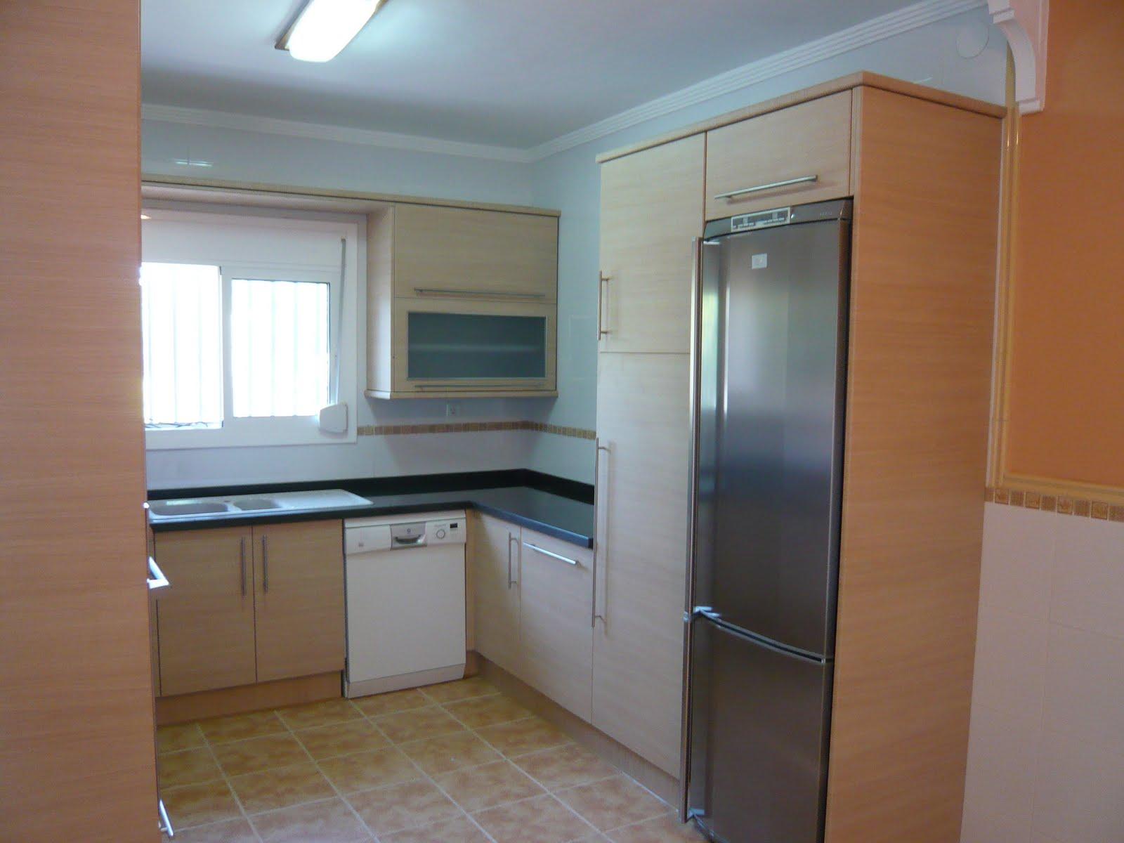 Reuscuina cocina de formica en roble horizontal - Cocinas de formica ...