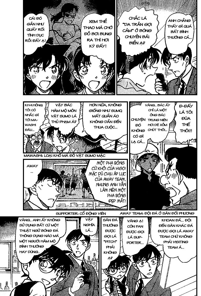 Detective Conan - Thám Tử Lừng Danh Conan chap 695 page 5 - IZTruyenTranh.com