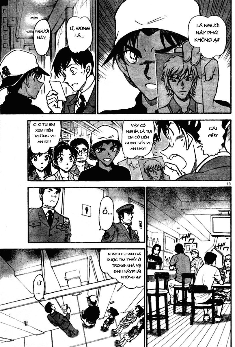 Detective Conan - Thám Tử Lừng Danh Conan chap 693 page 13 - IZTruyenTranh.com