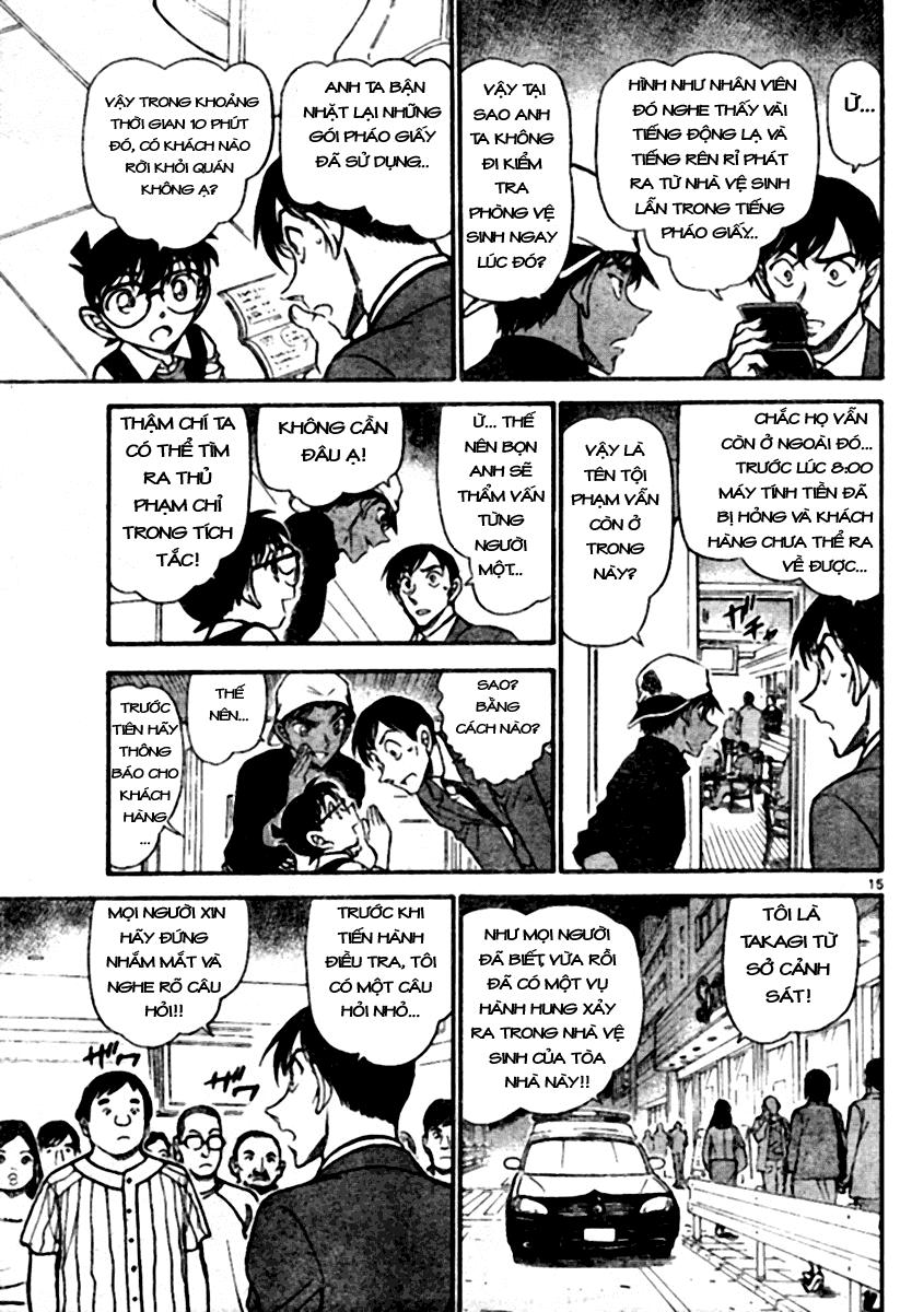 Detective Conan - Thám Tử Lừng Danh Conan chap 693 page 15 - IZTruyenTranh.com