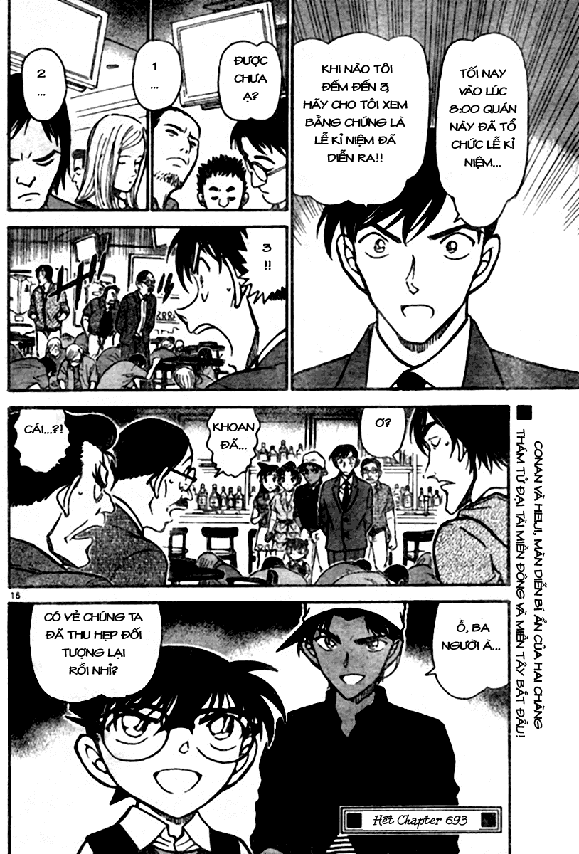 Detective Conan - Thám Tử Lừng Danh Conan chap 693 page 16 - IZTruyenTranh.com