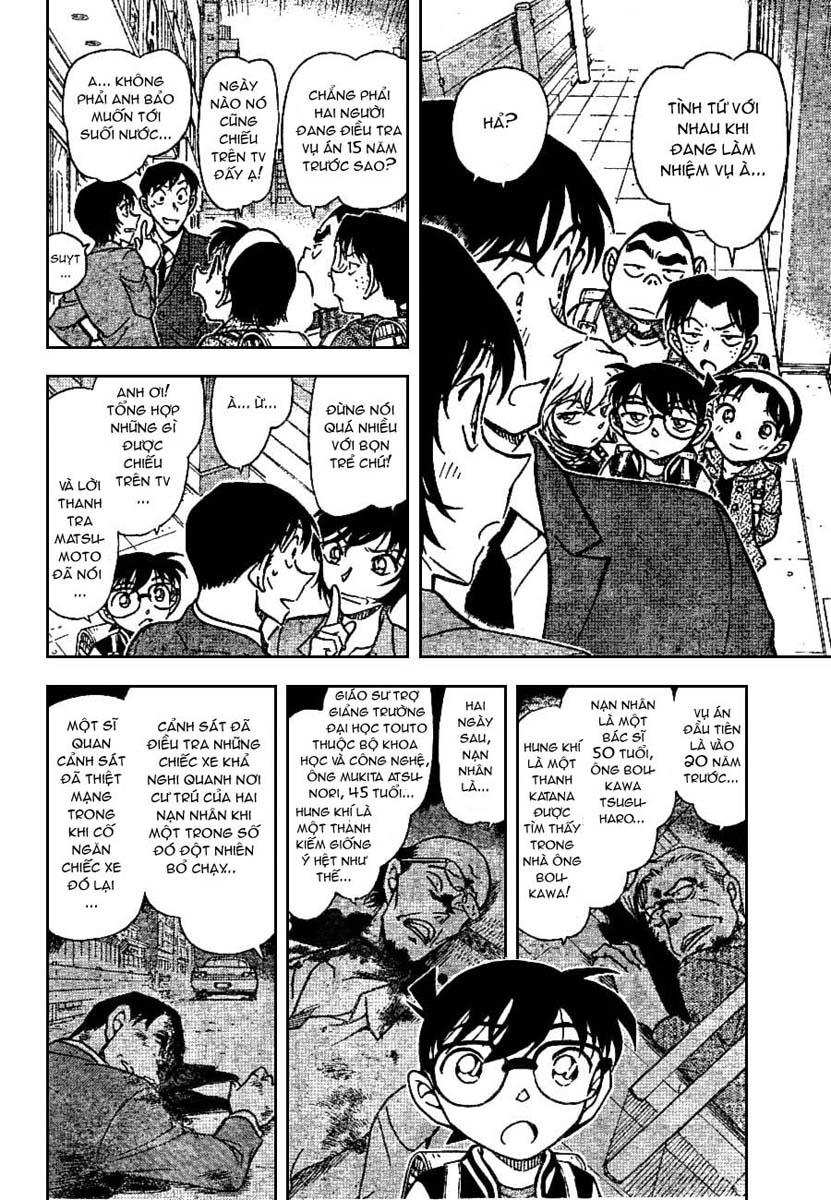 Detective Conan - Thám Tử Lừng Danh Conan chap 670 page 8 - IZTruyenTranh.com