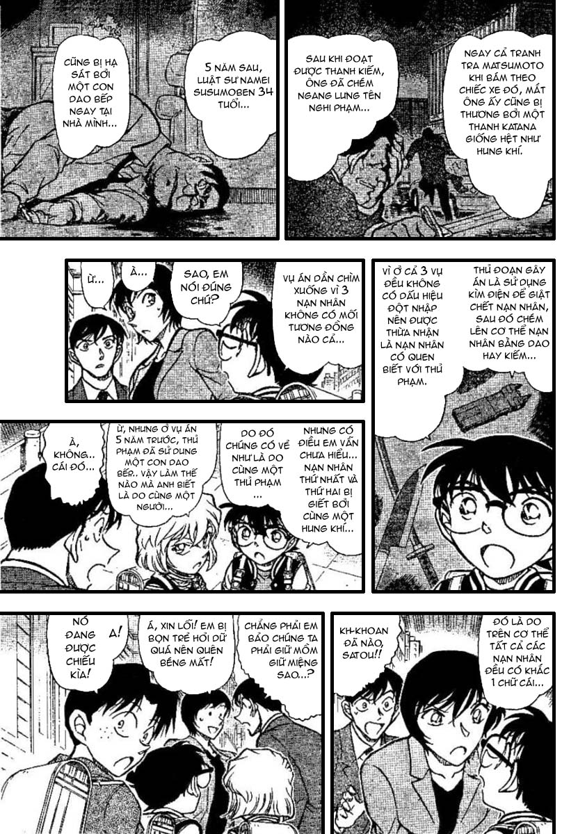 Detective Conan - Thám Tử Lừng Danh Conan chap 670 page 9 - IZTruyenTranh.com