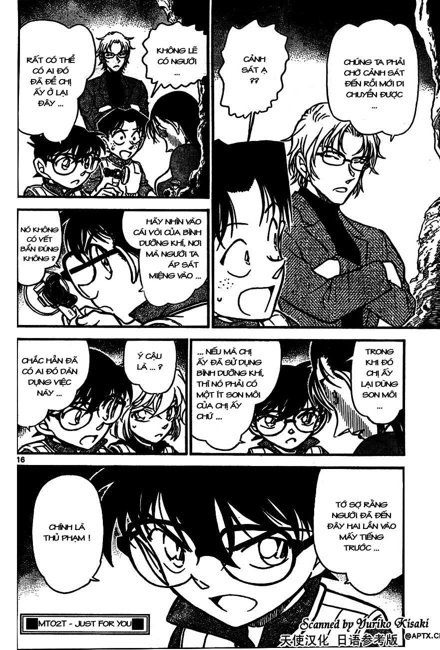 Detective Conan - Thám Tử Lừng Danh Conan chap 664 page 16 - IZTruyenTranh.com