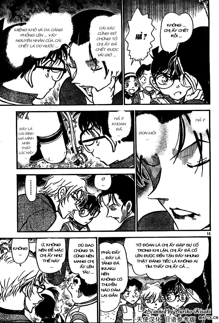 Detective Conan - Thám Tử Lừng Danh Conan chap 664 page 15 - IZTruyenTranh.com