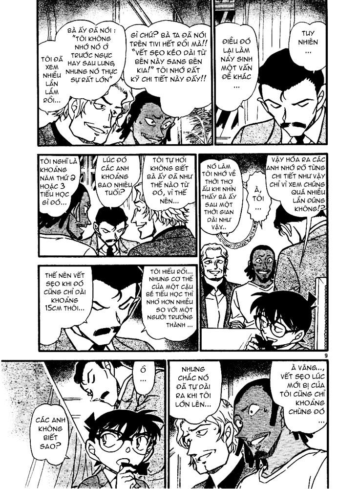 Detective Conan - Thám Tử Lừng Danh Conan chap 669 page 10 - IZTruyenTranh.com