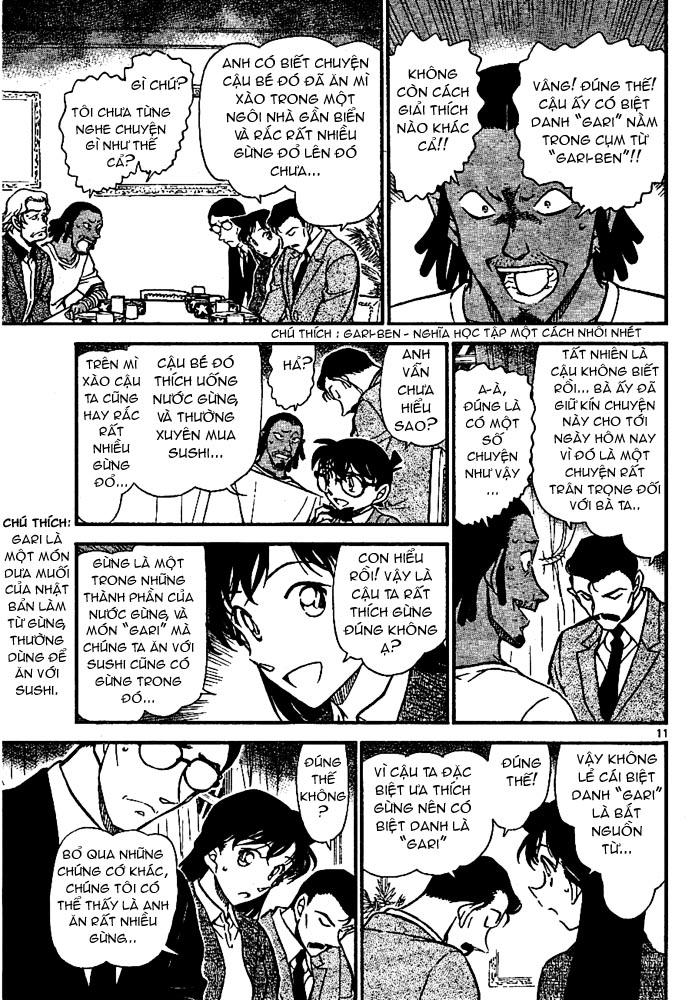 Detective Conan - Thám Tử Lừng Danh Conan chap 669 page 12 - IZTruyenTranh.com