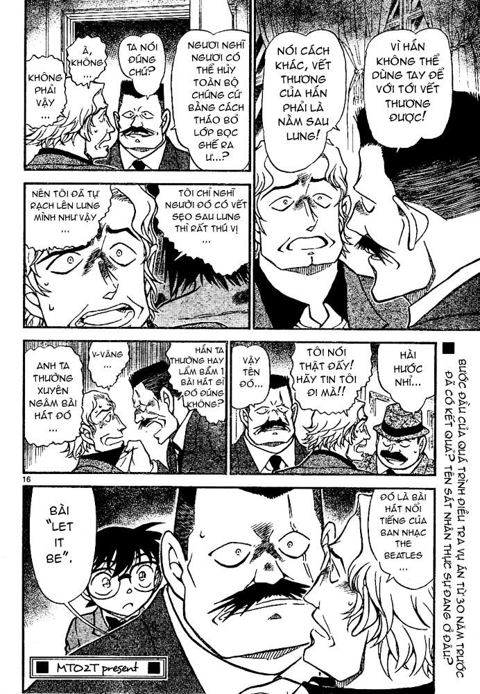 Detective Conan - Thám Tử Lừng Danh Conan chap 669 page 17 - IZTruyenTranh.com