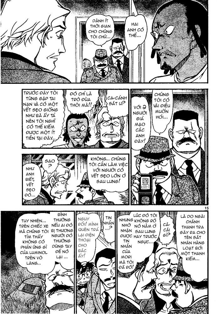 Detective Conan - Thám Tử Lừng Danh Conan chap 669 page 16 - IZTruyenTranh.com