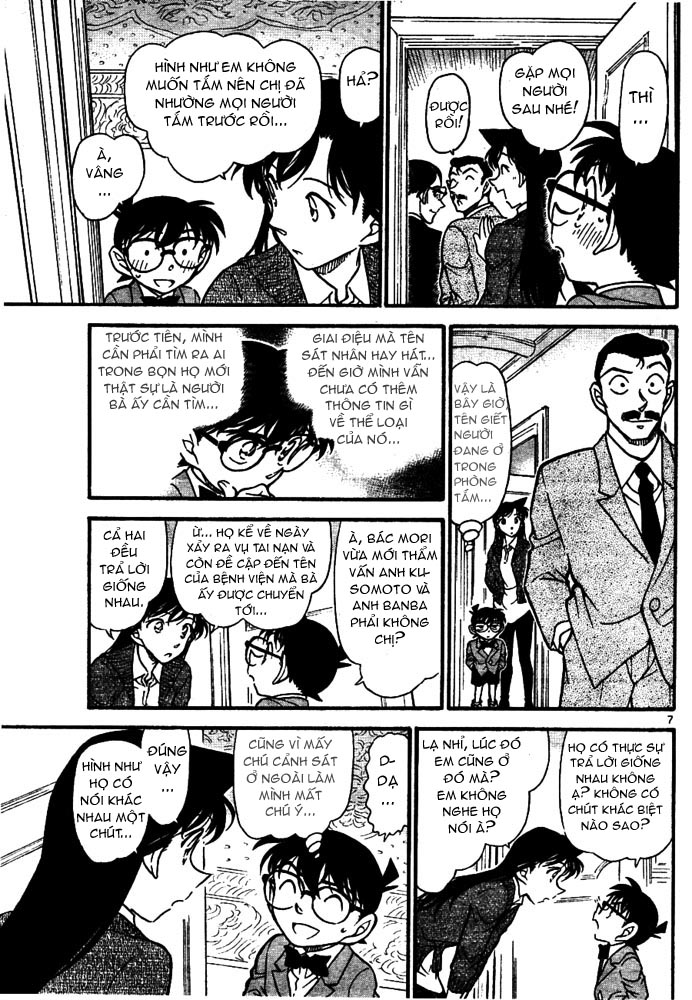 Detective Conan - Thám Tử Lừng Danh Conan chap 668 page 8 - IZTruyenTranh.com