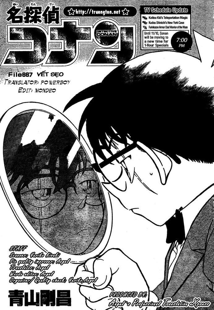 Detective Conan - Thám Tử Lừng Danh Conan chap 667 page 2 - IZTruyenTranh.com