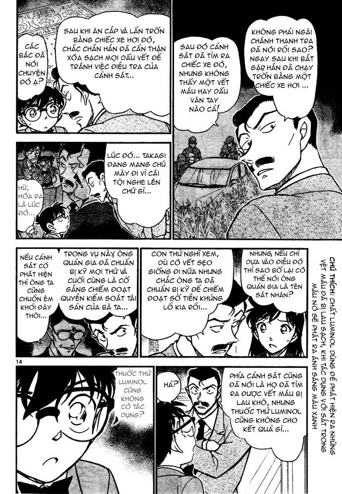 Detective Conan - Thám Tử Lừng Danh Conan chap 668 page 15 - IZTruyenTranh.com