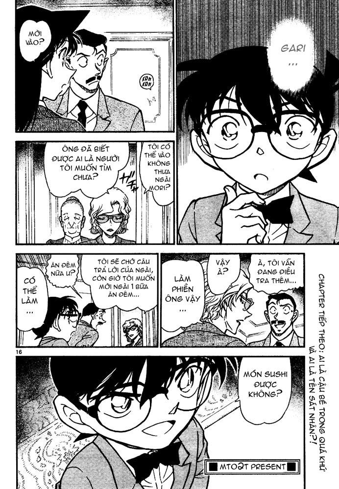 Detective Conan - Thám Tử Lừng Danh Conan chap 668 page 17 - IZTruyenTranh.com