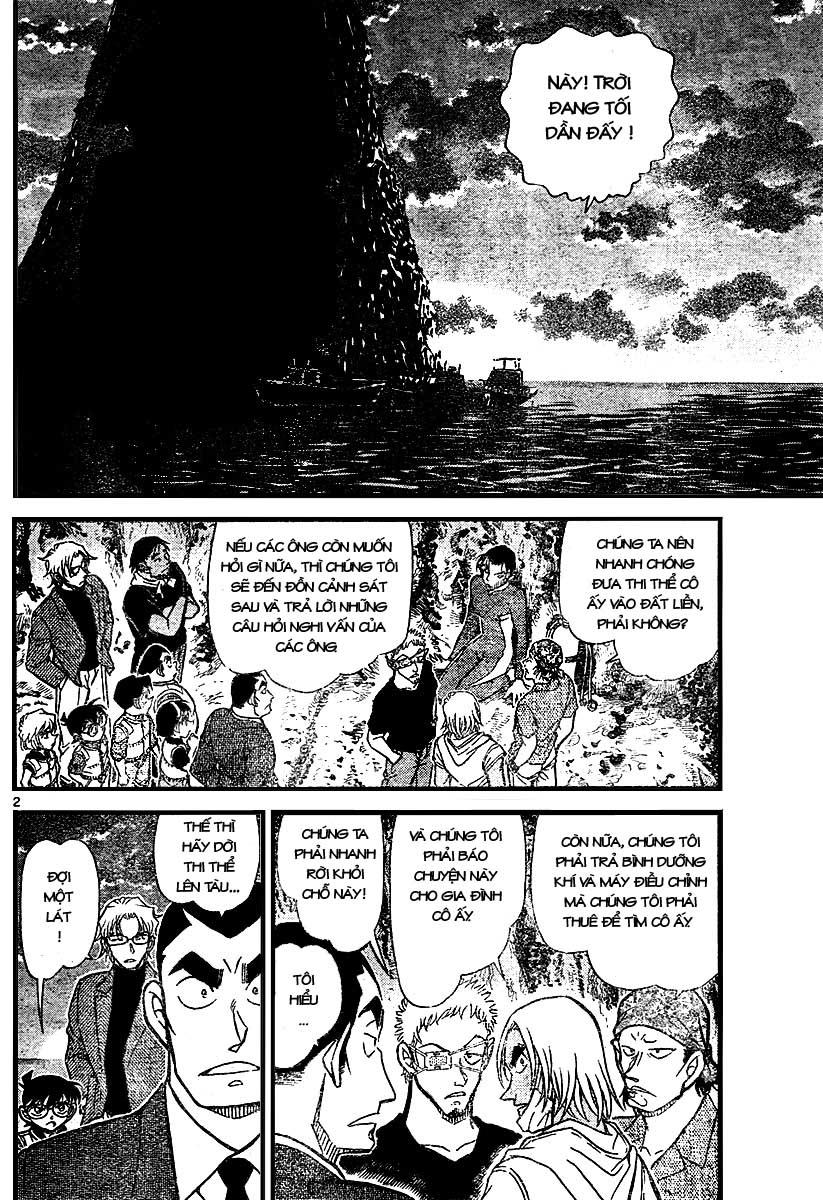 Detective Conan - Thám Tử Lừng Danh Conan chap 666 page 2 - IZTruyenTranh.com