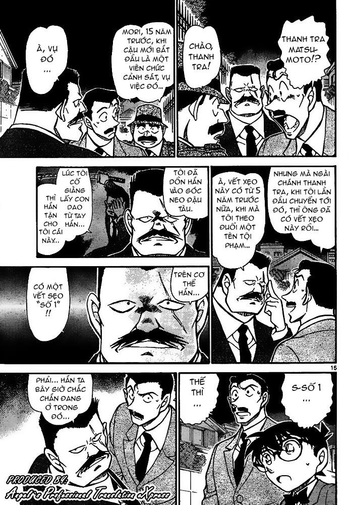 Detective Conan - Thám Tử Lừng Danh Conan chap 667 page 16 - IZTruyenTranh.com
