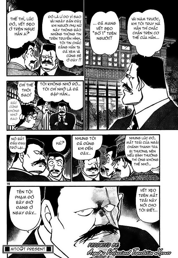 Detective Conan - Thám Tử Lừng Danh Conan chap 667 page 17 - IZTruyenTranh.com