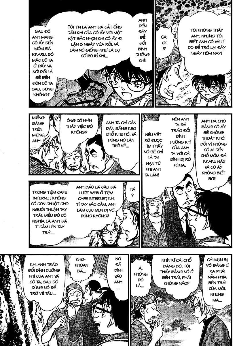 Detective Conan - Thám Tử Lừng Danh Conan chap 666 page 9 - IZTruyenTranh.com