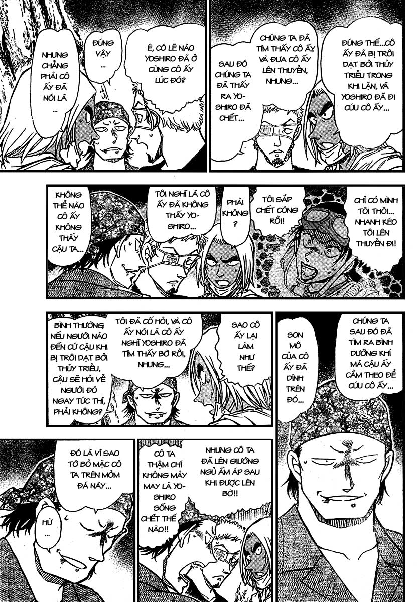Detective Conan - Thám Tử Lừng Danh Conan chap 666 page 11 - IZTruyenTranh.com