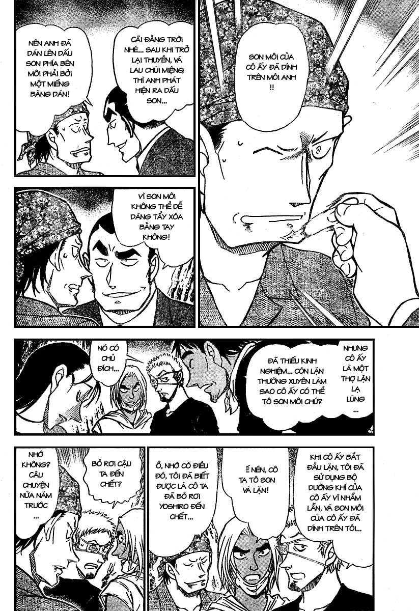 Detective Conan - Thám Tử Lừng Danh Conan chap 666 page 10 - IZTruyenTranh.com
