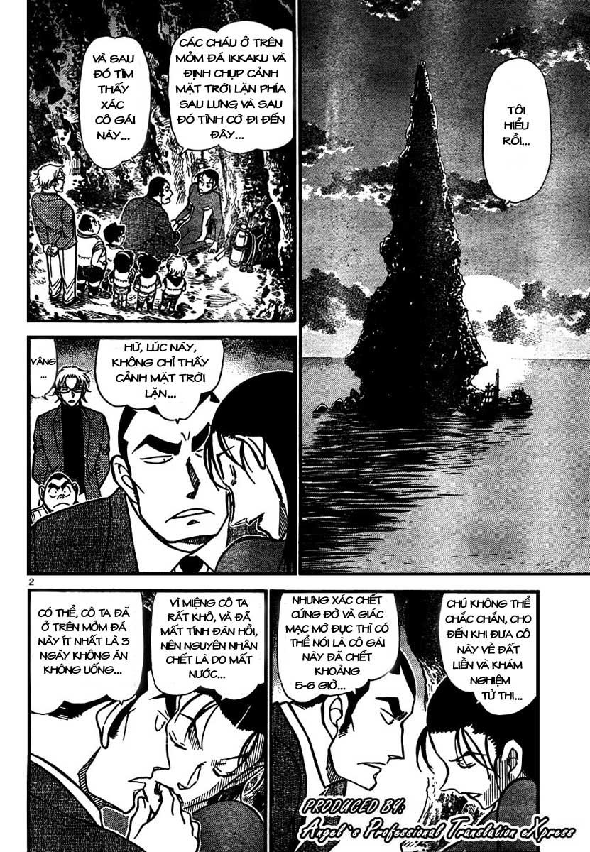 Detective Conan - Thám Tử Lừng Danh Conan chap 665 page 3 - IZTruyenTranh.com