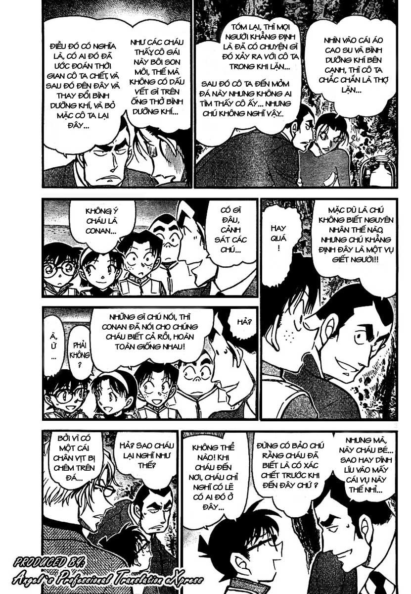 Detective Conan - Thám Tử Lừng Danh Conan chap 665 page 4 - IZTruyenTranh.com