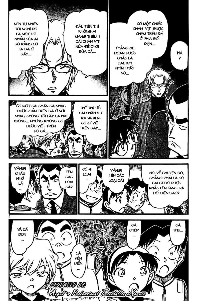Detective Conan - Thám Tử Lừng Danh Conan chap 665 page 5 - IZTruyenTranh.com