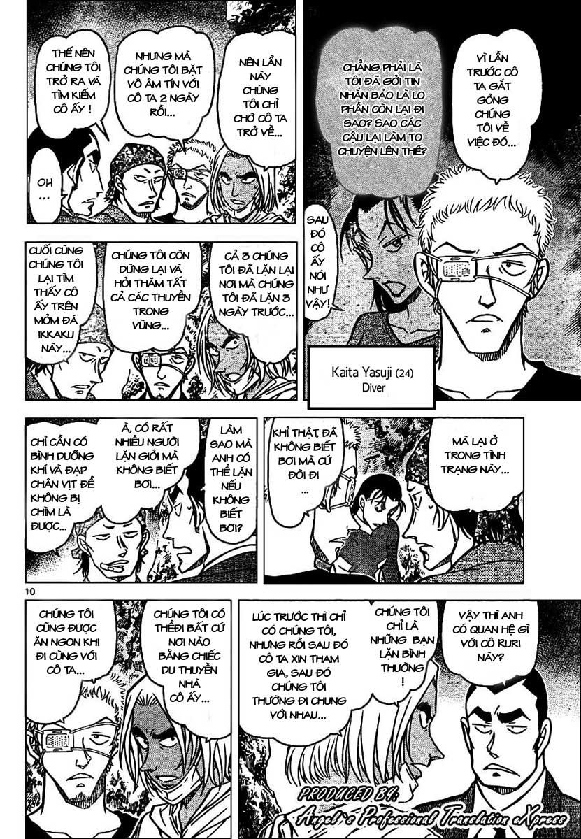 Detective Conan - Thám Tử Lừng Danh Conan chap 665 page 11 - IZTruyenTranh.com