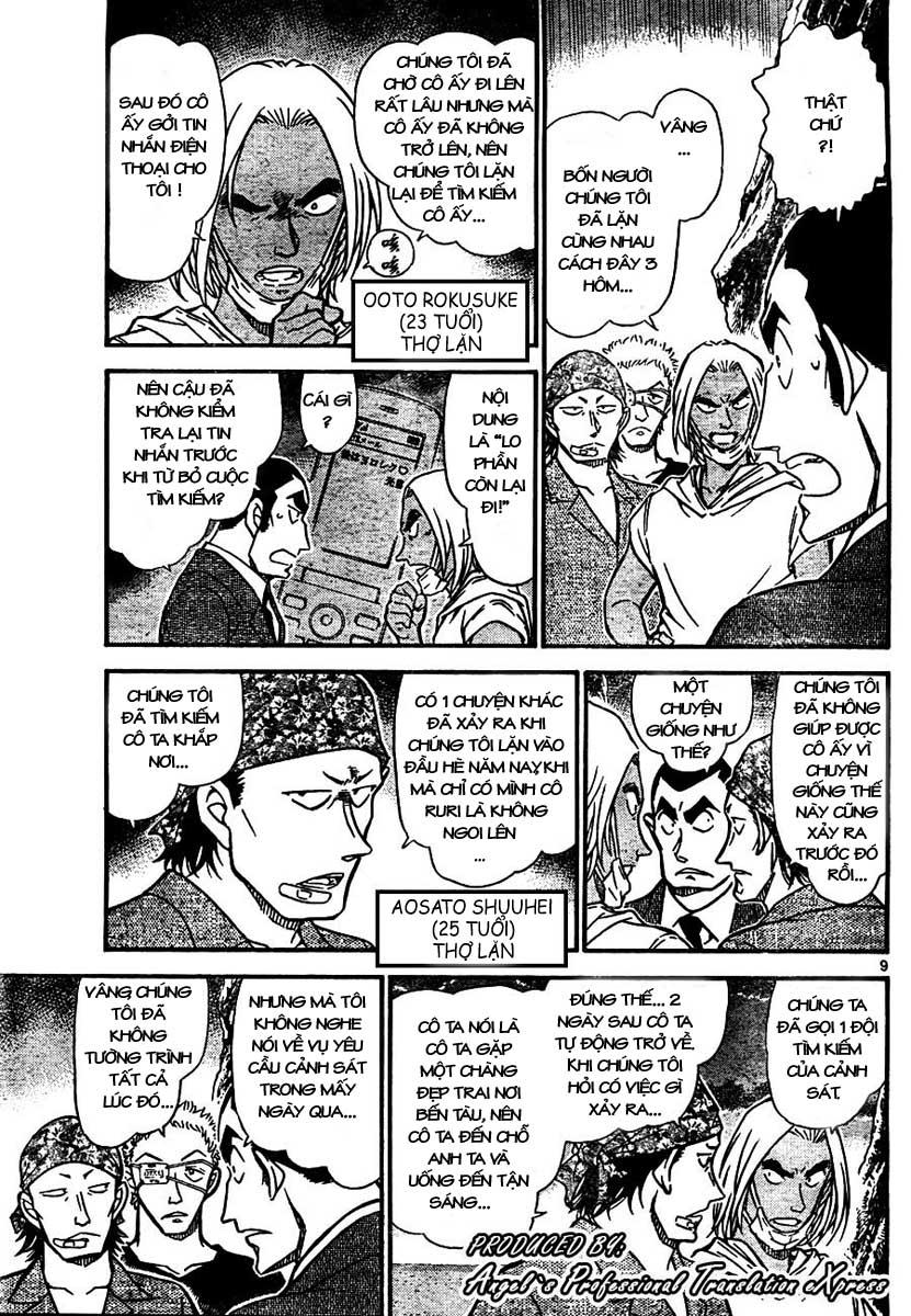 Detective Conan - Thám Tử Lừng Danh Conan chap 665 page 10 - IZTruyenTranh.com
