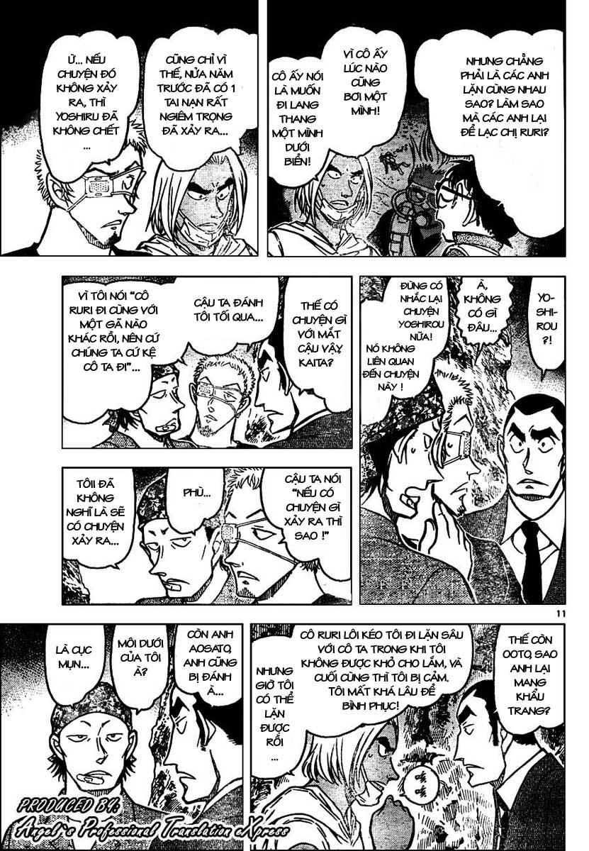 Detective Conan - Thám Tử Lừng Danh Conan chap 665 page 12 - IZTruyenTranh.com