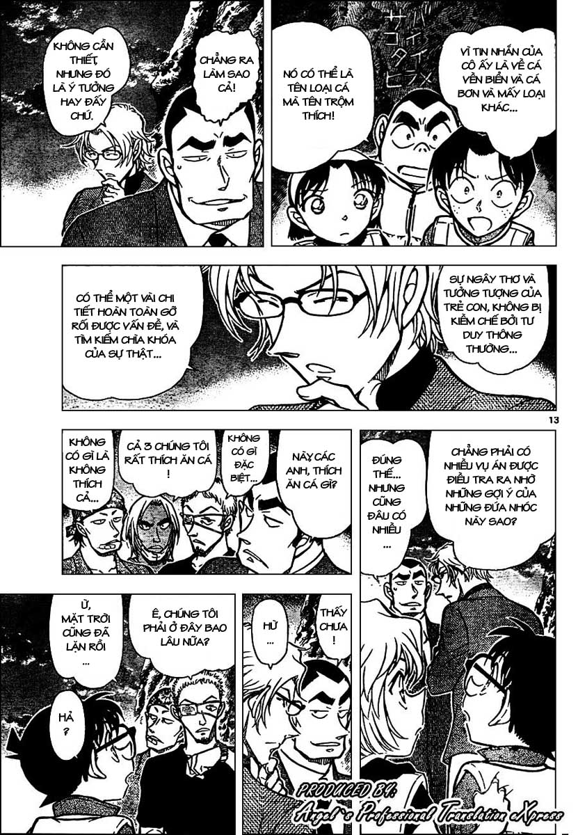 Detective Conan - Thám Tử Lừng Danh Conan chap 665 page 14 - IZTruyenTranh.com