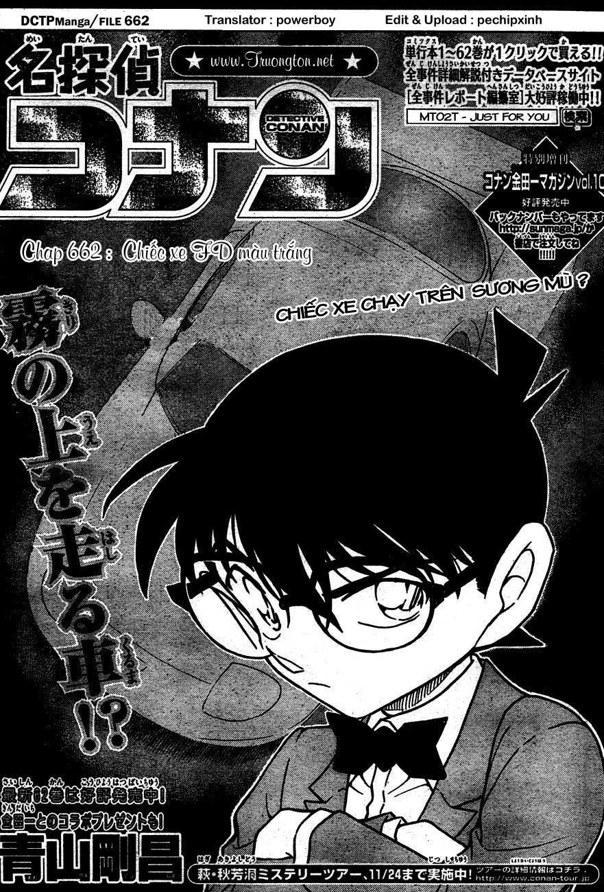 Detective Conan - Thám Tử Lừng Danh Conan chap 662 page 1 - IZTruyenTranh.com
