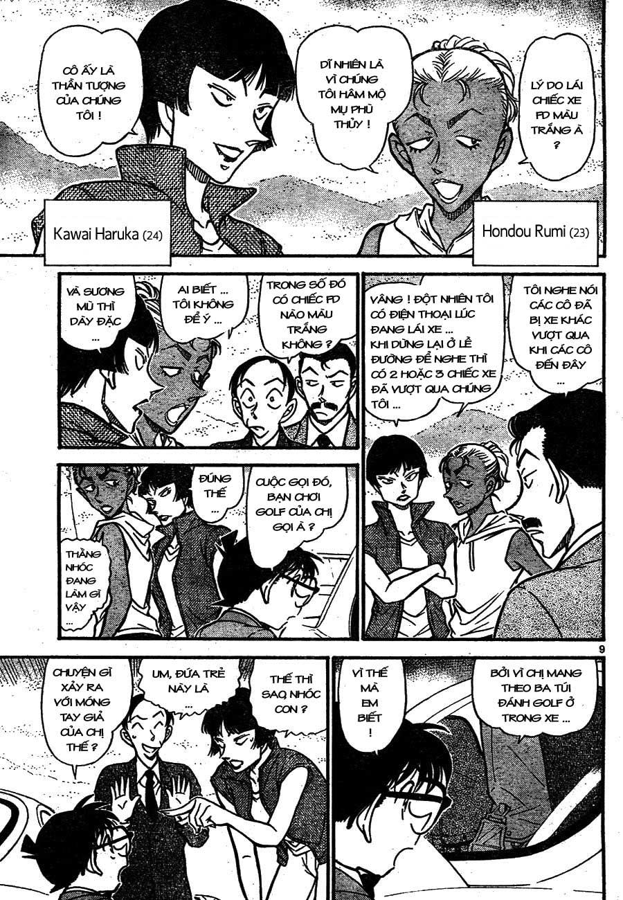 Detective Conan - Thám Tử Lừng Danh Conan chap 662 page 9 - IZTruyenTranh.com