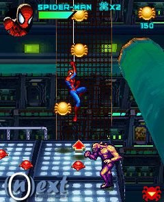 game spiderman
