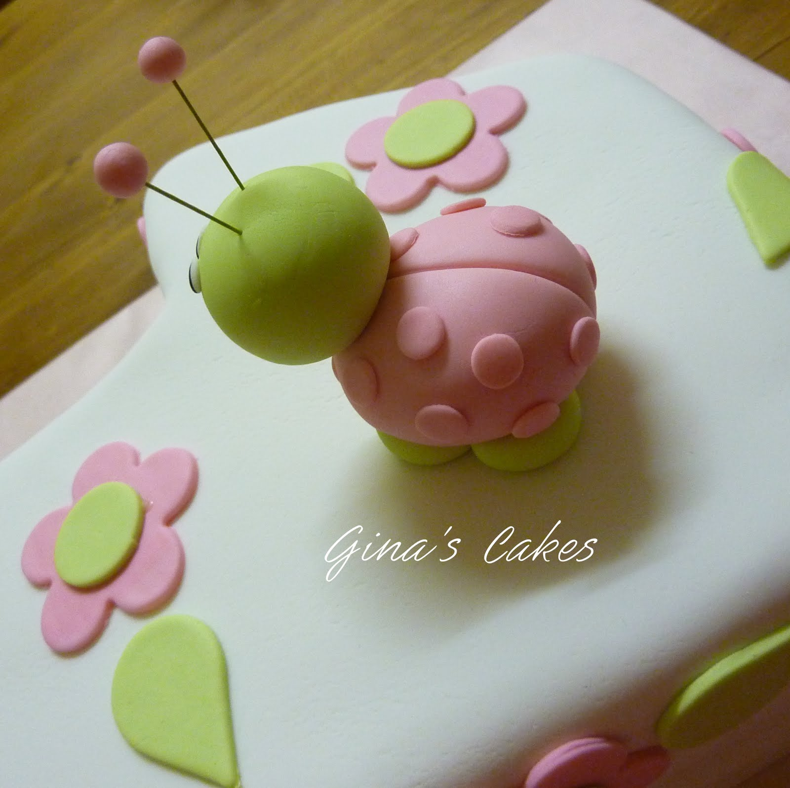 Top That Ladybug 1st Birthday Cake