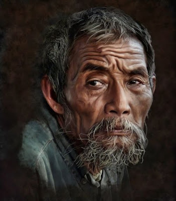 Realistic Smudge PhotoShop Paintings Pictures