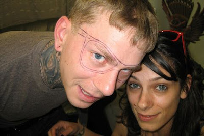 Amazing Tattoo Eye-Glasses