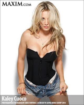 Kaley Cuoco Maxim Magazine Photo Shoot