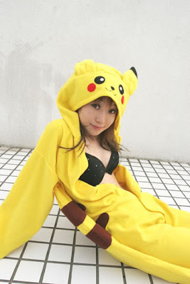 Beautiful Pikachus Girls Around The World