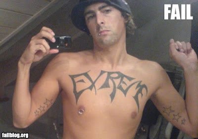 Tattoos Failed Badly Pictures