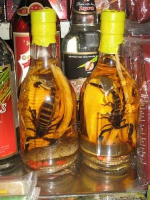 Unbelievable Poisonous Wines And Liquor