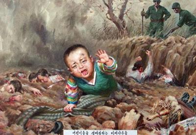 North Korean Barbarism Propaganda