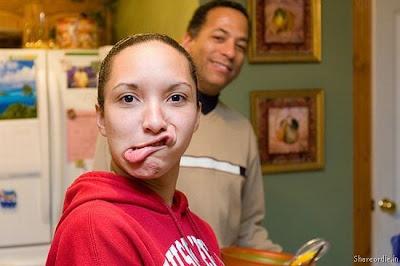 Weird & Funny Face Photo's Collection